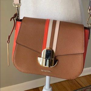 ❤️HP 2x❤️ Cromia (Italy) Colorblock Leather Purse